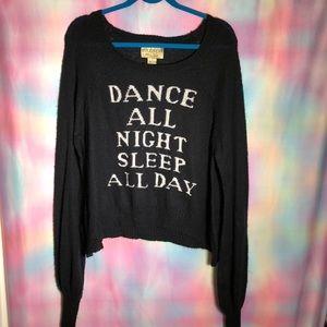 WILDFOX dance all night sweater
